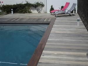 margelle bois piscine myqtocom With margelle piscine en bois