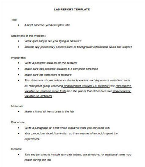 lab report templates google docs word  apple
