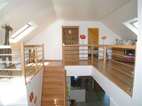 jeux de de cuisine de mezzanine aménagement de combles harnois