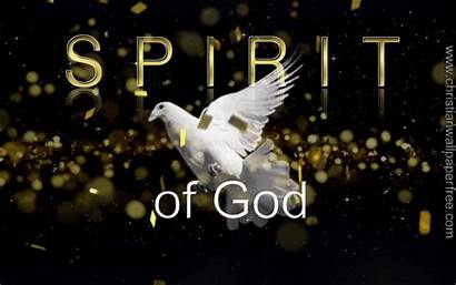 Spirit Christian God Backgrounds Holy Jesus Christ