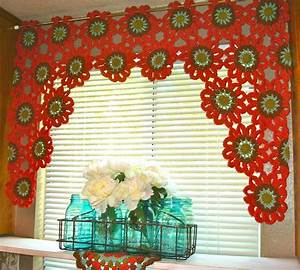 19 cool patterns for crochet curtains guide patterns for Simple curtain patterns