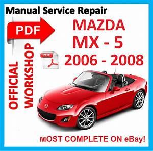 Official Workshop Manual Service Repair For Mazda Miata