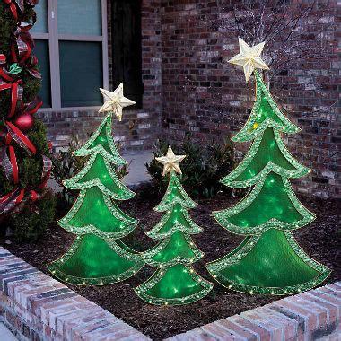 led decorative christmas trees set   sams club