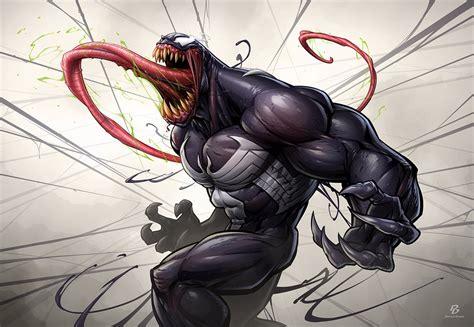Marvel Black Panther Wallpaper Venom By Patrickbrown On Deviantart
