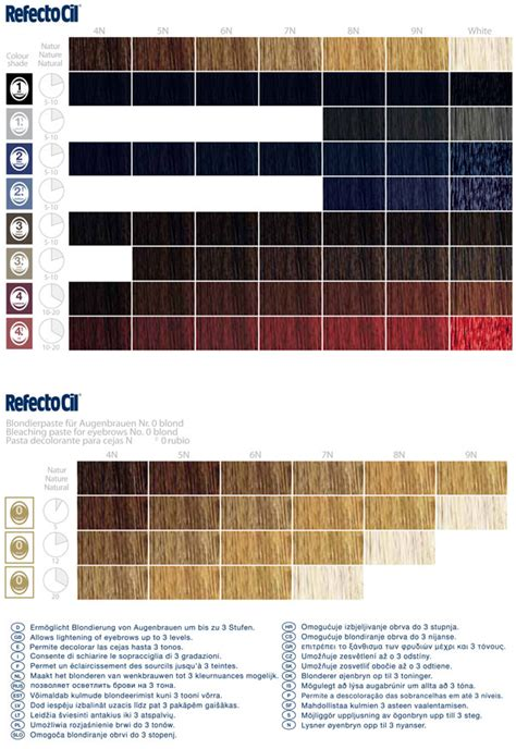 clairol color chart clairol hair color chart filepedia