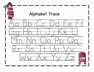 first school alphabet tracers preschool printables With alphabet letters for preschoolers