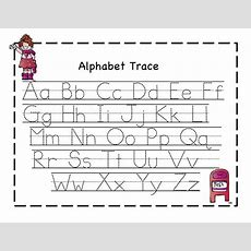 Abc Tracing Sheets For Preschool Kids  Kiddo Shelter  Alphabet And Numbers Learning