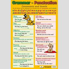 Grammar  Punctuation Poster By Chart Media  Chart Media