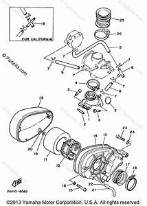 Yamaha Motorcycle 1998 Oem Parts Diagram For Intake