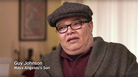 Maya Angelou Son Guy Johnson