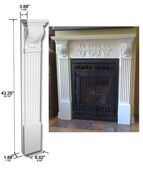Fireplace Corbels by Pilaster Corbel Fireplace Corbel Fdccb 1029
