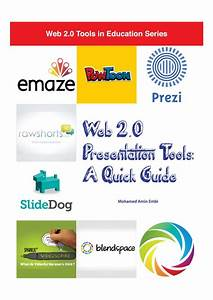 Selected Web 2 0 Presentation Tools  With Images