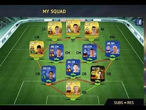 My TOTY Squad FIFA 15 Ultimate Team iOS - YouTube