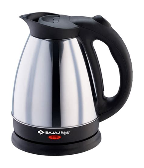 kettle electric bajaj ktx liters majesty 1500 australia steel stainless kettles between watts india mouthshut technological differences installation sold alapattsupershoppe