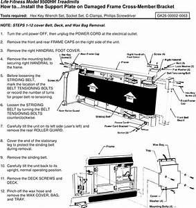 Lifefitness 9500hr Treadmill Service Manual