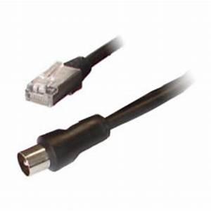 Fil D Antenne Tv : c ble rj45 m le coaxial mm m le 2 5 m tres c ble antenne tv g n rique sur ldlc ~ Melissatoandfro.com Idées de Décoration