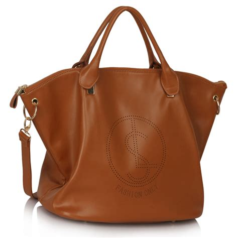 crossbody bags for travel ls00391 brown large tote handbag with