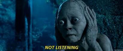 Listening Anelli Signore Degli Movie Movies Gollum