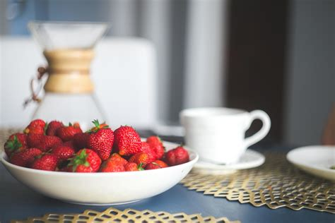 Free picture: strawberry, breakfast, food, fruit, cup ...