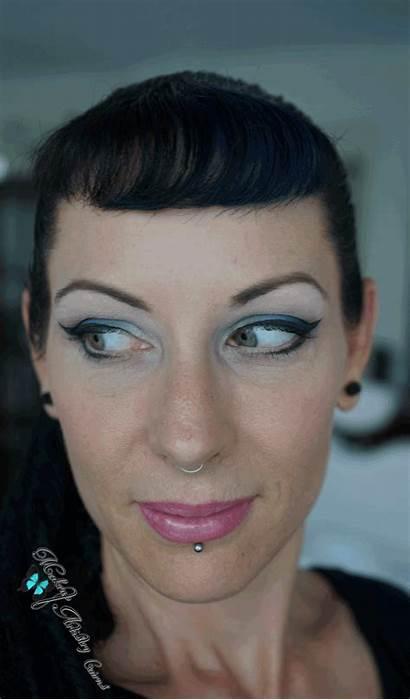 Makeup Eye Looks Cat Feline Sculptured Neon