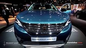 Peugeot 5008 2016 : peugeot 5008 au mondial de paris 2016 youtube ~ Medecine-chirurgie-esthetiques.com Avis de Voitures