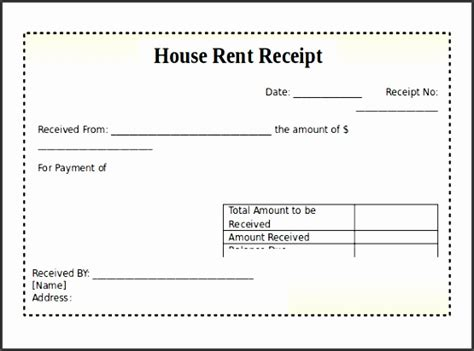 room rent receipt template sampletemplatess