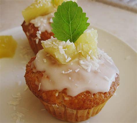 ananas kokos muffins rezept mit bild von bezwinger