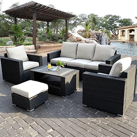 wicker rattan sofa aruba rattan 6 seating set