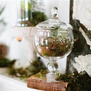 Verre Pour Table : bocal en verre pour bonbons en centre de table paperblog ~ Teatrodelosmanantiales.com Idées de Décoration