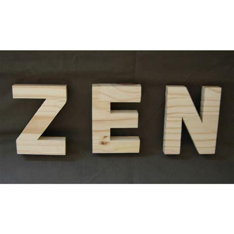 lettre cuisine en bois lettre en bois a peindre 25 cm