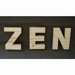 Lettre En Bois A Peindre : lettre en bois a peindre 25 cm ~ Dailycaller-alerts.com Idées de Décoration