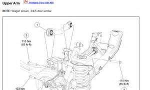 Wiring Diagram  32 2007 Ford Focus Rear Suspension Diagram