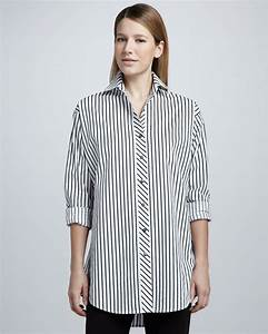 Go Silk Striped Big Shirt | Where to buy & how to wear