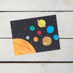 Create your own solar system out of construction paper and ...
