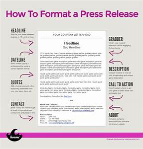 how to write a press release for seo With band press release template