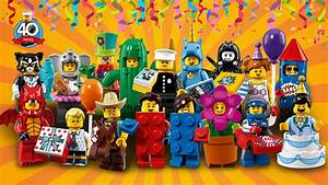 Series 18: Party - 71021 - LEGO® Minifigures - Products ...