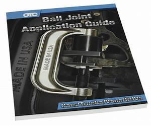 Ball Joint Application Guide