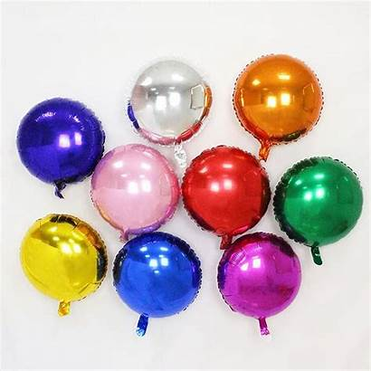 Balloons Foil Round Party Inflatable Balloon Birthday