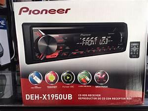 Radio Pioneer Deh-x1950ub Nuevo