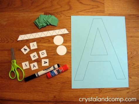 letter of the week a is for alligator 712 | A is for alligator preschool craft 2 crystalandcomp1 1024x768