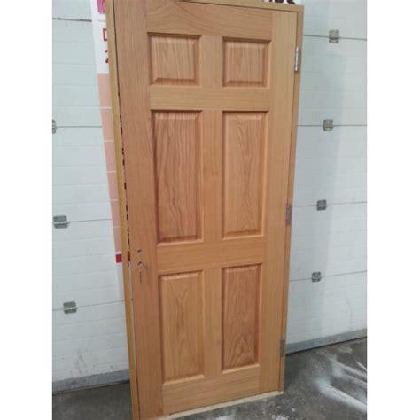 what is prehung door prehung 6 panel oak door set