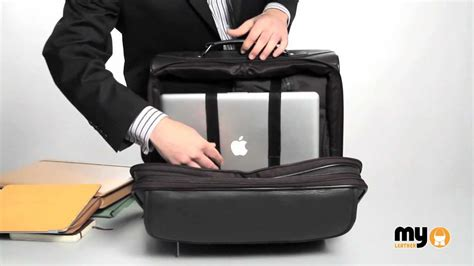 briefcase on wheels leather laptop trolley wheeled business bag by