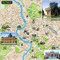 Large Rome Maps for Free Download and Print | High ...