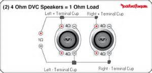 similiar quad 2 ohm dvc subwoofer wiring diagrams keywords dual voice coil subs wired in parallel 1 ohm load