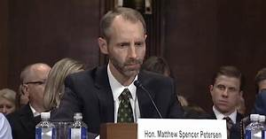 Trump Judicial Nominee Attracts Scorn After Flopping in ...