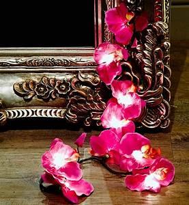 Lichterkette Mit Stecker : orchideen lichterkette in lila mit eu stecker urban outfitters pickture ~ Whattoseeinmadrid.com Haus und Dekorationen
