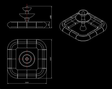 fountain  autocad  cad   kb bibliocad