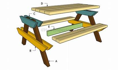 Table Picnic Build Building Plans Diy Howtospecialist