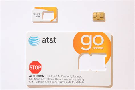 activate at t iphone new at t repaid go phone 3g nano sim cut for iphone 5