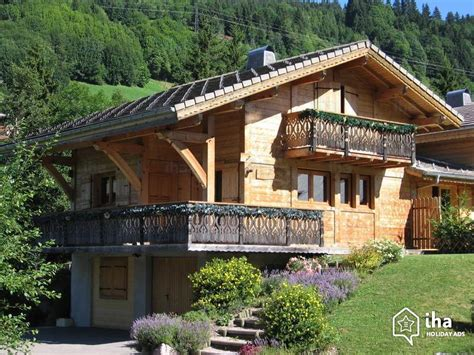 chalet for rent in a property in les gets iha 45699